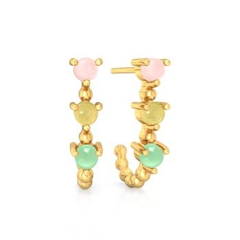 Scoops and Sprinkles Gemstone Earrings