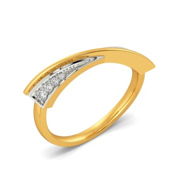 Bold Beat Diamond Rings
