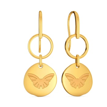 All Things Eco Gold Earrings