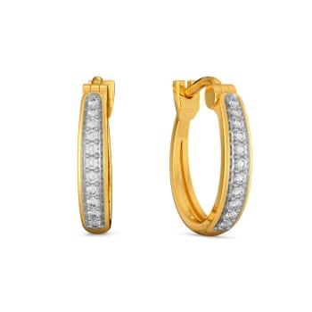 Basic Linears  Diamond Earrings