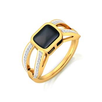 Black Magic Woman Diamond Rings