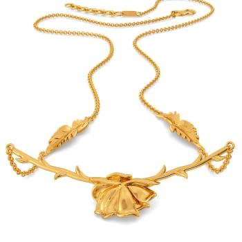 Etoile de Lyon Gold Necklaces