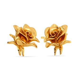 Forbidden Love Gold Earrings