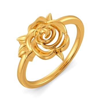 Rose Garden Gold Rings