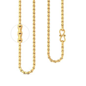 22kt Wheat Link Chain Gold Chains