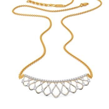 Cool Crochet Diamond Necklaces