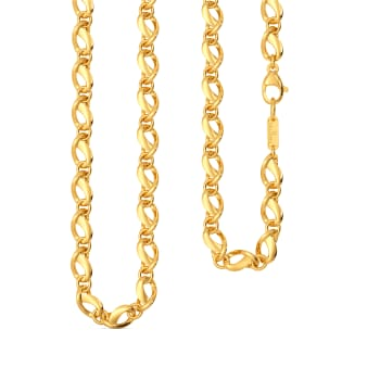 Curvy Suave Gold Chains