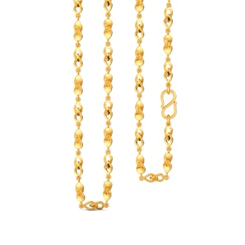 Petal Penchant Gold Chains