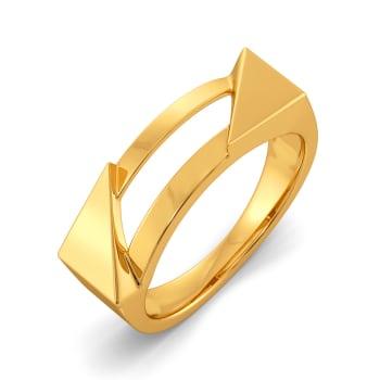 Team Work Gold Rings