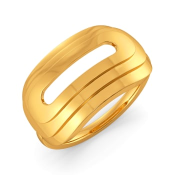 Suit Up Gold Rings