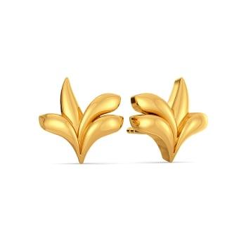 Shingle Shangle Gold Earrings