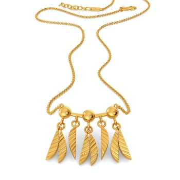 The Trippy Tropical Gold Necklaces