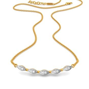 Fern Finds Diamond Necklaces