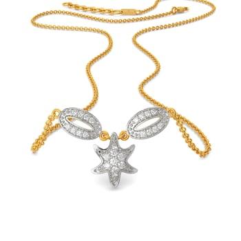 Link O Star Diamond Necklaces