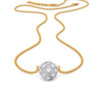 The Check Deck Diamond Necklaces