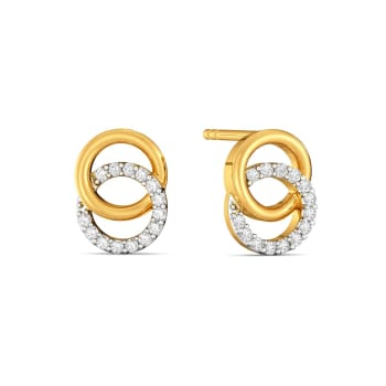Ring A Bling Diamond Earrings