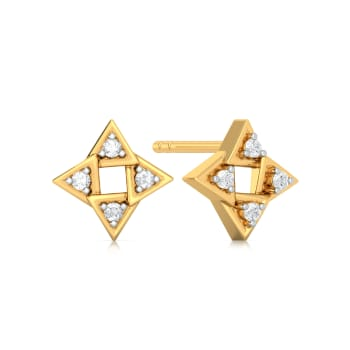 Trio gusto Diamond Earrings