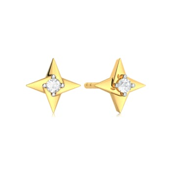 Fidget Digit  Diamond Earrings