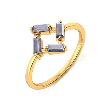 Serge de Nimes Gemstone Rings