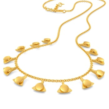 The Trance Dance Gold Necklaces