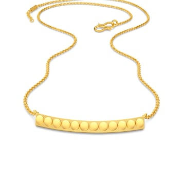 Coin Joints Gold Necklaces