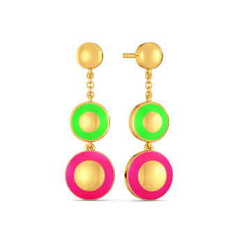 So-Lit Gold Earrings