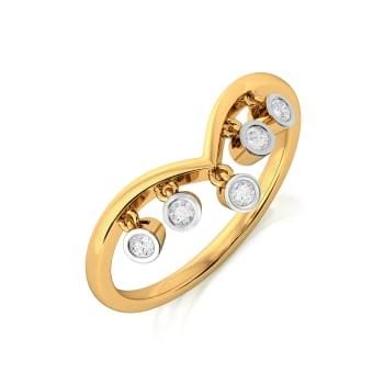 Dangle Triangle Diamond Rings