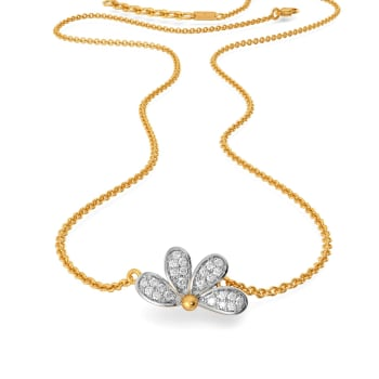 Petal Posse Diamond Necklaces