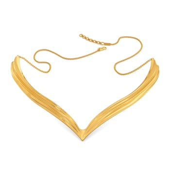 Flowy Goddess Gold Necklaces