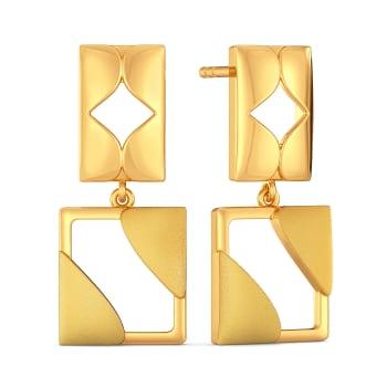 Play It Down Gold Earrings