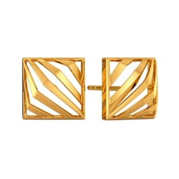 The Rebel Bell Gold Earrings