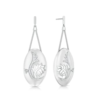 Chantilly Charm Diamond Earrings