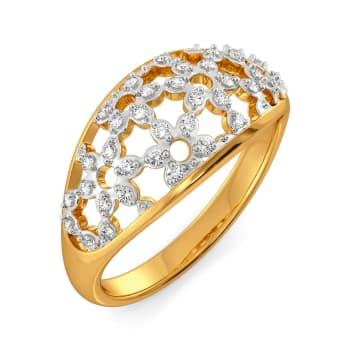 Lace Replay Diamond Rings