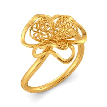 La La Lace Gold Rings