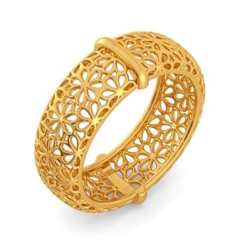 Bar O Lace Gold Rings