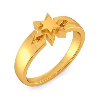 Stellar Forever Gold Rings