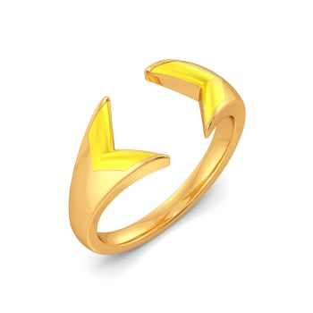 Mellow Yellow Gold Rings