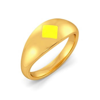 Yellow Submarine Gold Rings