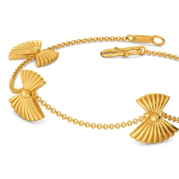 Miss Poisson Gold Bracelets