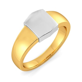 Wild Whites Gold Rings