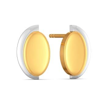 Sunny Treks Gold Earrings