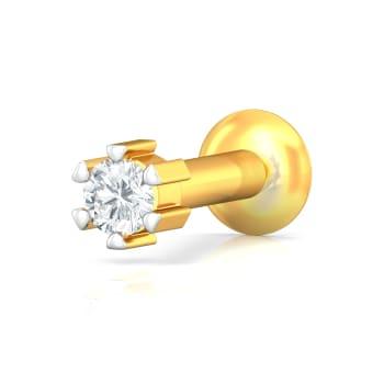 Little Dot Diamond Nose Pins