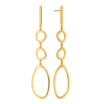 Partly Party Gold Earrings