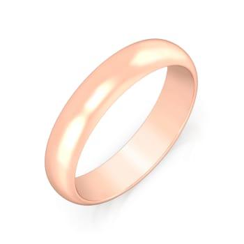 Rose luminiscence Gold Rings
