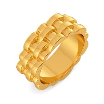 Twist N Twine Gold Rings