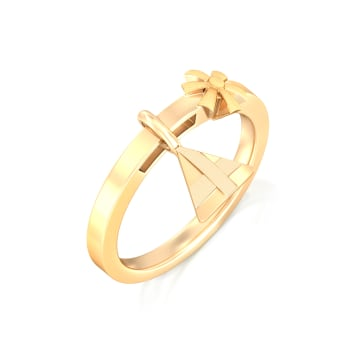 Multifaceted Gold Rings