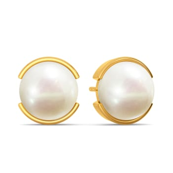 Pop A Pearl Gemstone Earrings