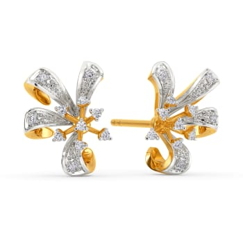 Jolly Wild Diamond Earrings