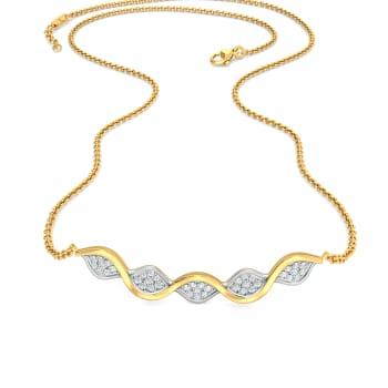 Surf Turf Diamond Necklaces