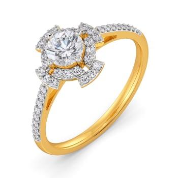 Love Lantern Diamond Rings